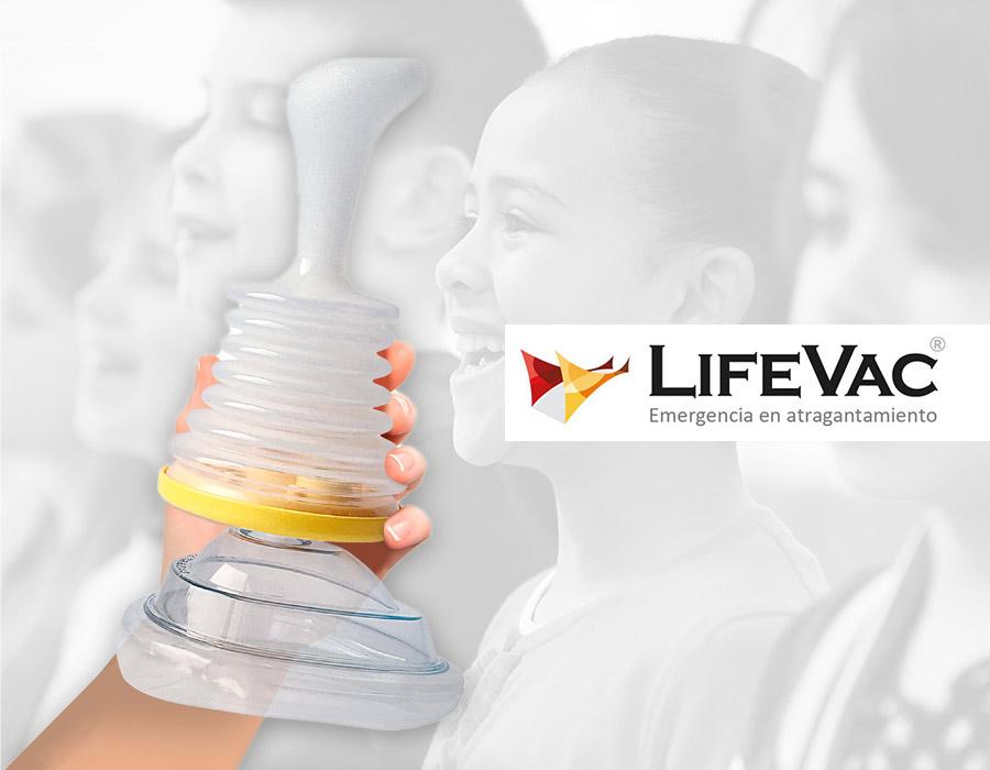 LifeVac: el dispositivo básico en primeros auxilios